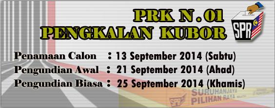 PRK N.01 PENGKALAN KUBOR