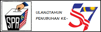 ULANGTAHUN PENUBUHAN SPR KE-57