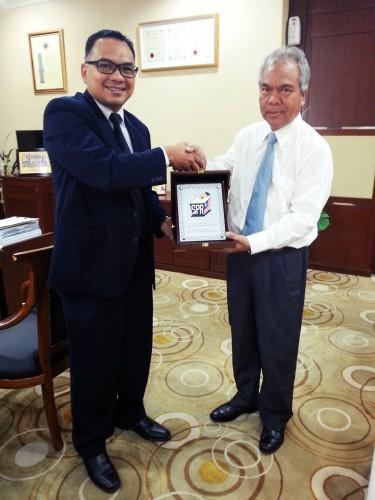 Kunjung Hormat YB. Datuk Haji Bakar Bin Din, Setiausaha Kerajaan Negeri Kedah