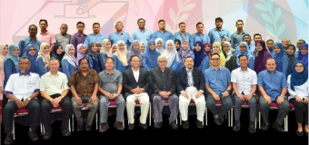 Lawatan YBhg. Tan Sri Mohd Hashim bin Abdullah, Pengerusi Suruhanjaya Pilihan Raya