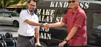 PENYERAHAN KERUSI RODA KEPADA NGO (KINDNESS MALAYSIA)