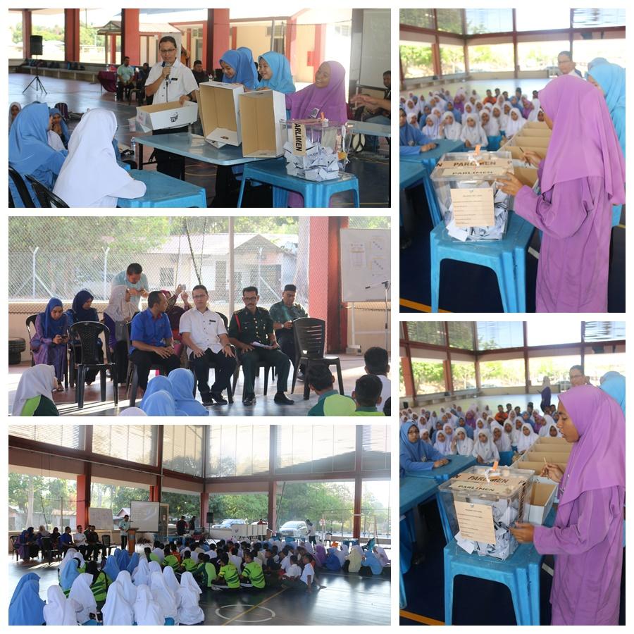 pendidikan pengundi SMK Ayer Hangat1