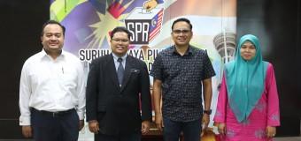 KUNJUNGAN MESRA -DEKAN SCHOOL OF MULTIMEDIA TECHNOLOGY AND COMMUNICATION (SMMTC)-UNIVERSITI UTARA MALAYSIA