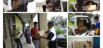 Sumbangan Bagi Mangsa Banjir di Pantai Timur