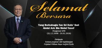Selamat Bersara Yang Berbahagia Tan Sri Dato' Seri Abdul Aziz Bin Mohd Yusof