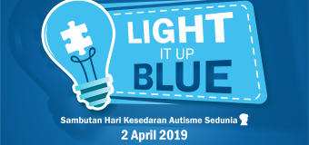 "Program Semarak Biru ""LIGHT IT UP BLUE"""