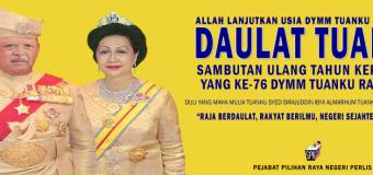 Ulang Tahun DYMM Tuanku Raja Perlis
