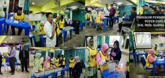 Program Pendidikan Pengundi Voter Education (VE) Sek. Men. Agama Al Maad Arau