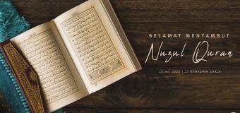 Salam Nuzul Quran 1441H