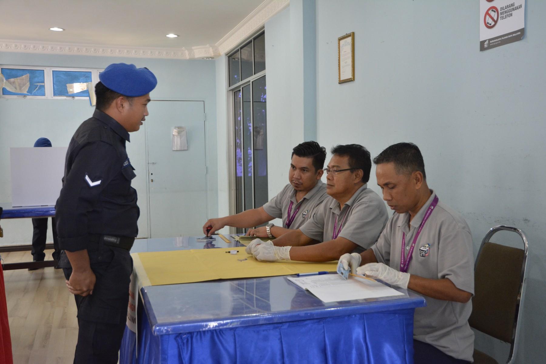 Polis Marin Sandakan 06 Mei 2019